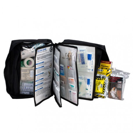 168 Piece First Aid Survival Kit