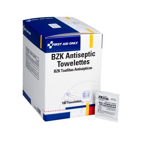 Antiseptic cleansing wipe (sting free) - 100 per box