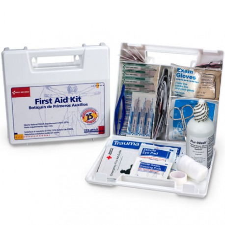 Large, 25 Person Bulk First Aid Kit