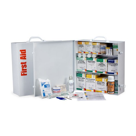 3 Shelf Industrial First Aid Station