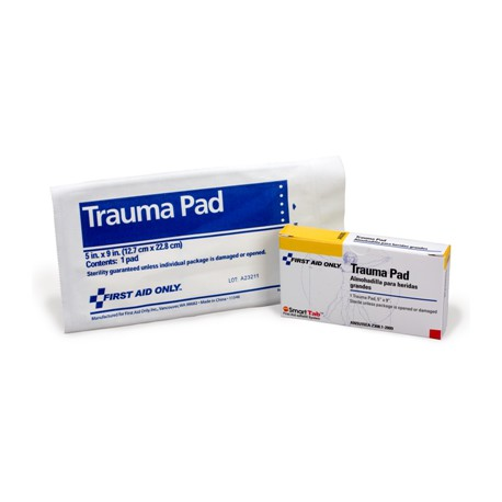 "Trauma Pad, 5""x9"" - 1 per box/Case of 6 @ $0.98 ea."