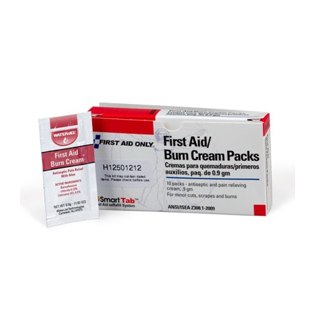 Burn Relief Pack, 10 bx