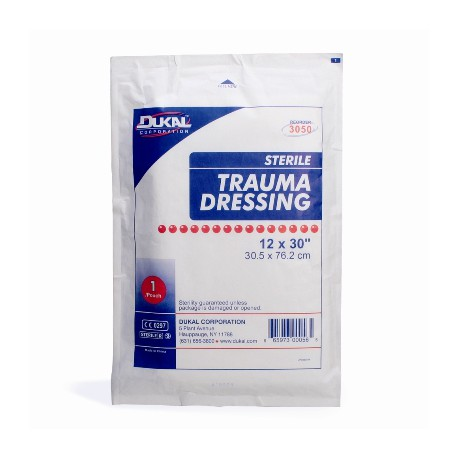 "12""x30"" Multi-trauma dressing - 25 per case"
