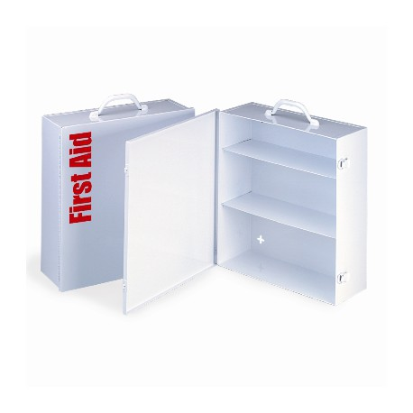 3 Shelf Industrial Cabinet w/Swing Out Door