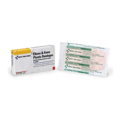 Elbow & Knee Bandage - Plastic - 2 inch x 4 inch - 5 Per Box