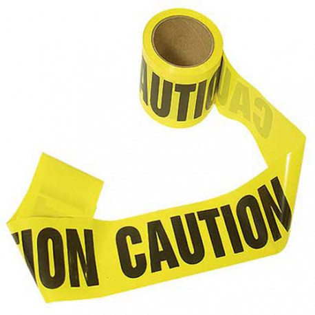 Barricade Tape 300' (Caution)