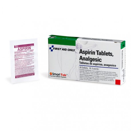 Aspirin 5 grain tablets