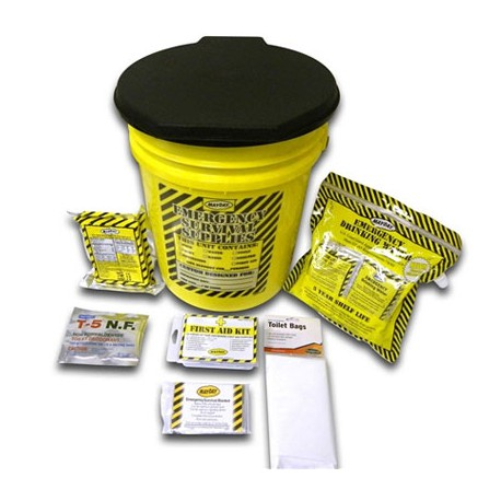 Economy Emergency Kit-1 Person - Honey Bucket