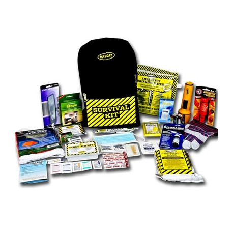 Deluxe Emergency Kit- 1 Person  - Back Pack Kit