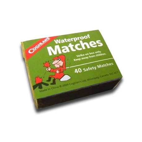 Waterproof Matches – Box of 50