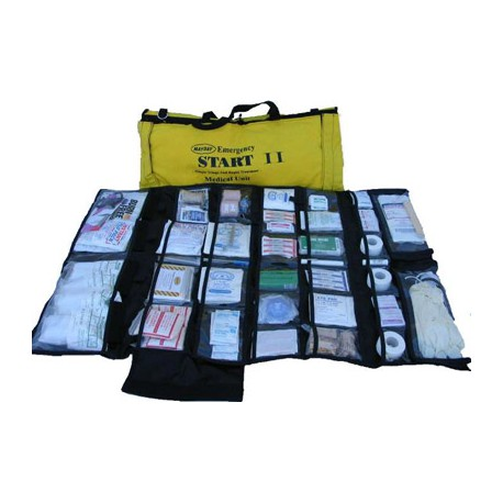*START II Trauma First Aid Kit – Black Bag