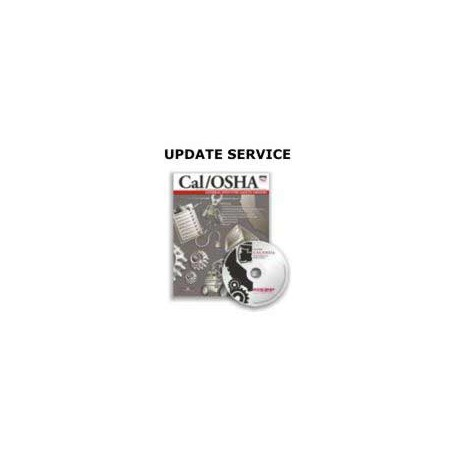 Cal/OSHA General Industry Safety Orders Book & CD 3 Year Update Service
