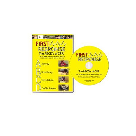 The ABCD's of CPR Bystander, CHILD & INFANT ONLY (DVD)