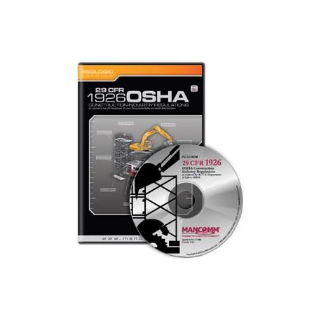 1926 OSHA Construction Industry Regulations CD-ROM