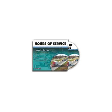 Hours of Service for Commercial Motor Vehicle Operators - DVD