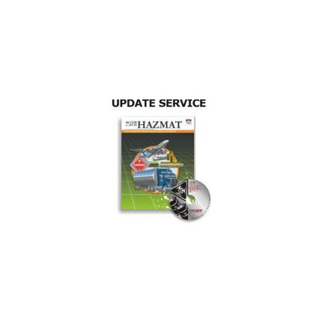 Hazardous Materials Book & CD 5 Year Update Service