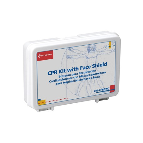 Mini personal CPR Kit - plastic