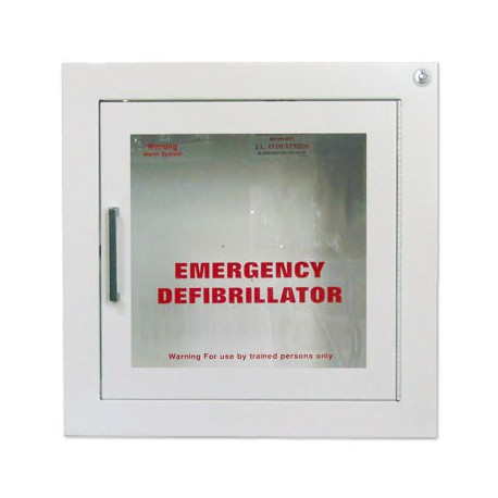 AED Wall Cabinet - Surface mount with Alarm $224.95