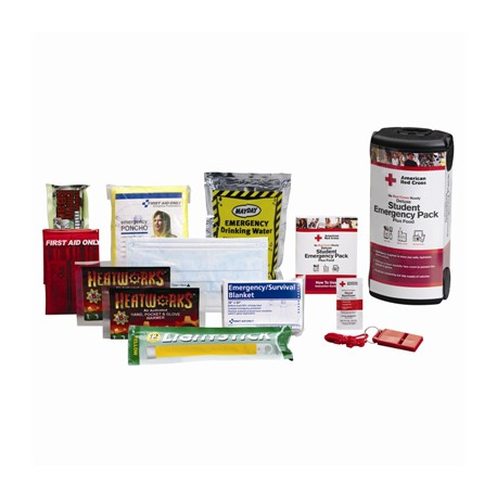 NEW SCHOOL PAKS  American Red Cross Deluxe Student Emergency Pack