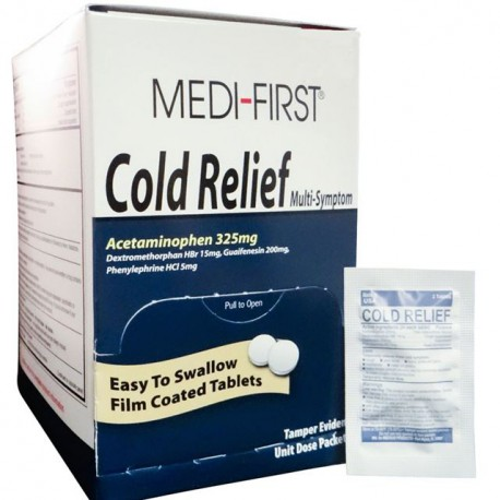 Cold & Cough Tablets, No PSE - 100 per box