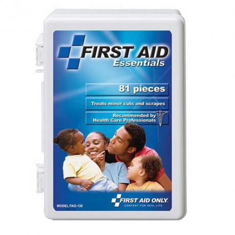 81 Piece large box, Free First Aid Kit