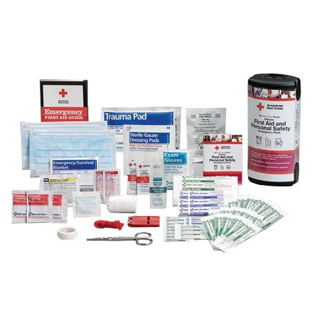 Deluxe First Aid and Personal Safety Emergency Pack