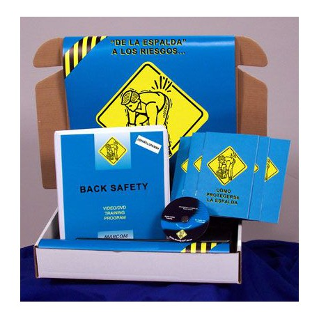 Back Safety Safety Meeting Kit (DVD)