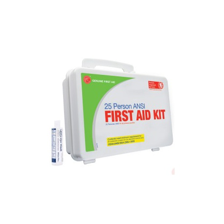 25 Person First Aid Kit by Genuine First Aid