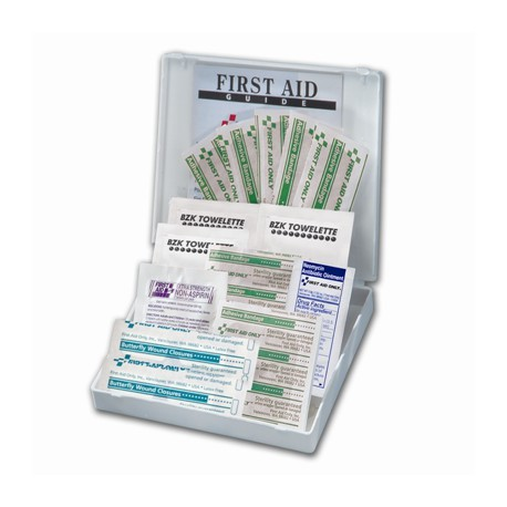 21 Piece Mini, All Purpose First Aid Kit/Case of 48 @ $2.13 ea.