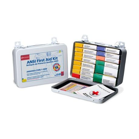 16 Unit, 94 piece unitized ANSI kit, metal case w/ gasket