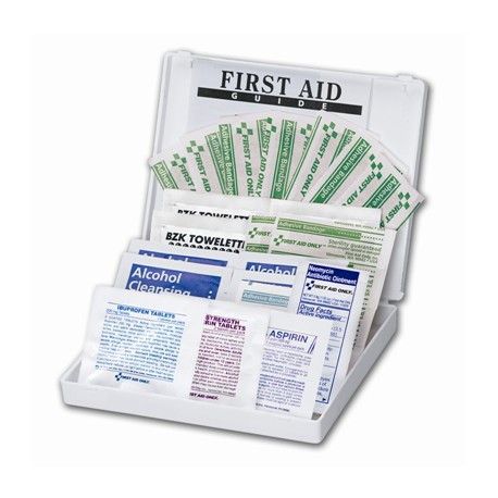 34 Piece Mini, All Purpose First Aid Kit/Case of 48 @ $2.84 ea.