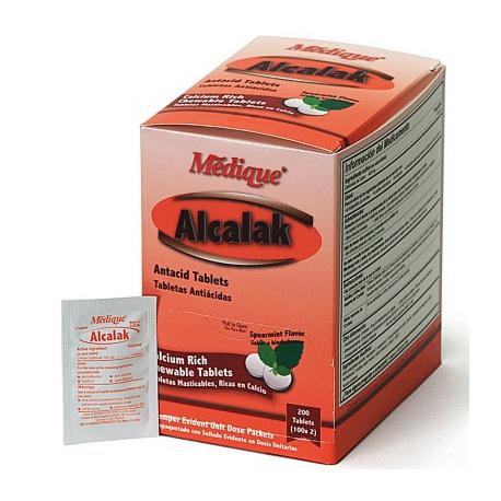 Alcalak, 200/box