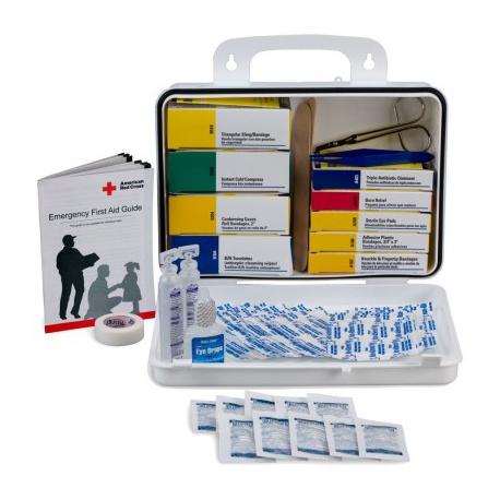Welder 16 Unit First Aid Kit - plastic