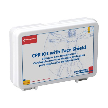 Mini personal CPR Kit - plastic/Case of 48 @ $5.87 ea.